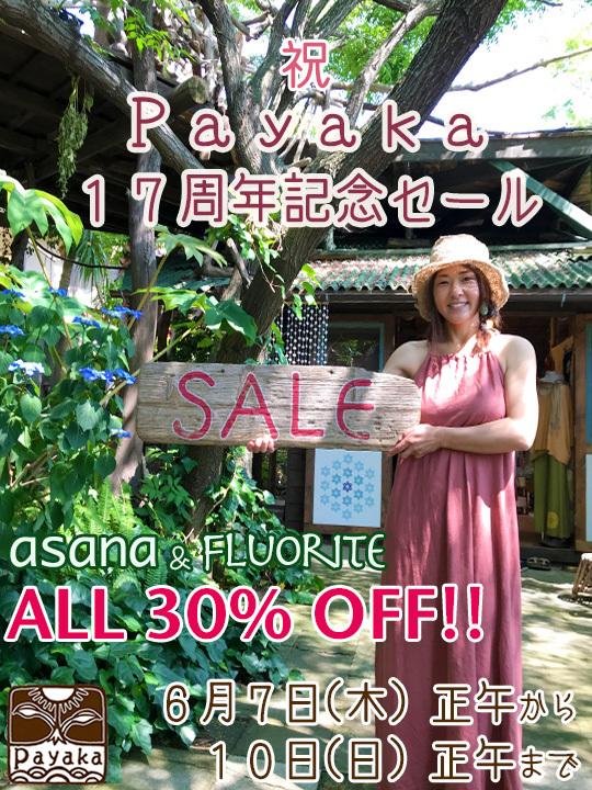 Payaka17周年記念セール_a0252768_22294444.jpg