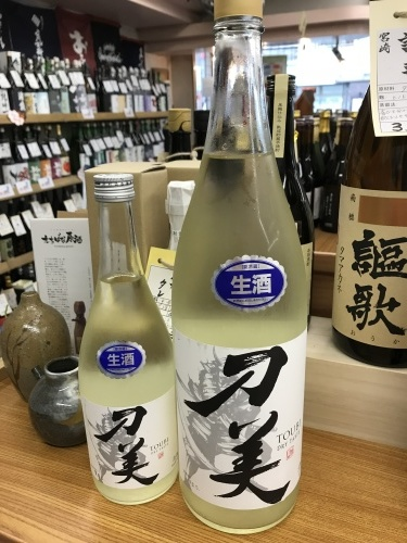 日本酒「刀美 生」吉祥寺の酒屋より_f0205182_15355803.jpg