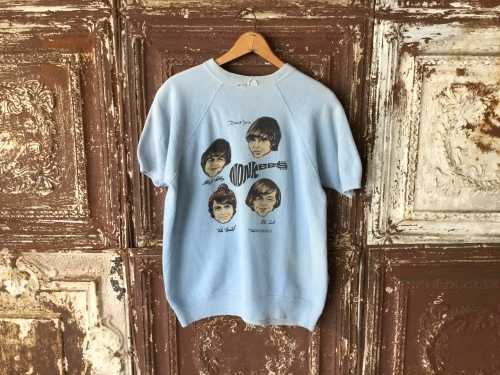 1967s Monkees S/S Sweat Shirts - REAL MONKEY 仙台 ~ Vintage & Antiques ~古着屋