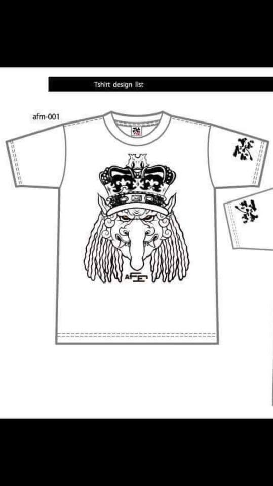 《afm✖︎ ガチシリーズメンバーTシャツ》好評販売受付中!んの巻_f0236990_14463132.jpg