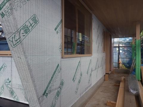 成増の家 外壁工事_f0073301_17250971.jpg