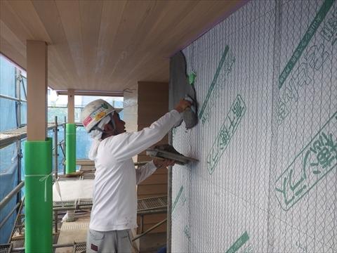 成増の家 外壁工事_f0073301_17252690.jpg