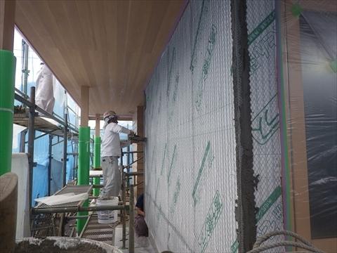 成増の家 外壁工事_f0073301_17253813.jpg