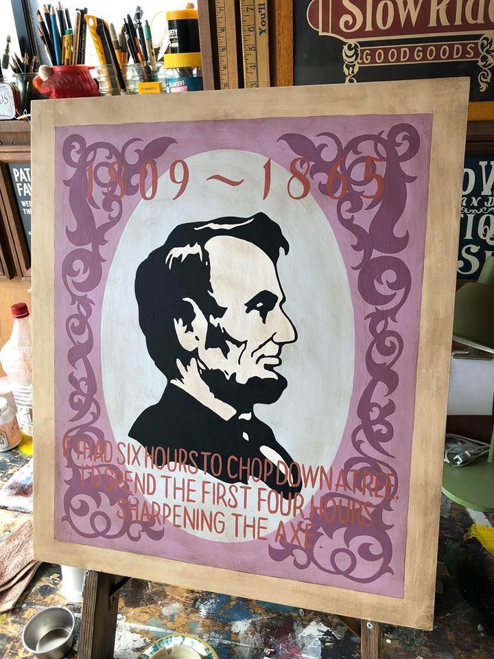 ◆ Abraham Lincoln ◆_c0078202_16172503.jpg