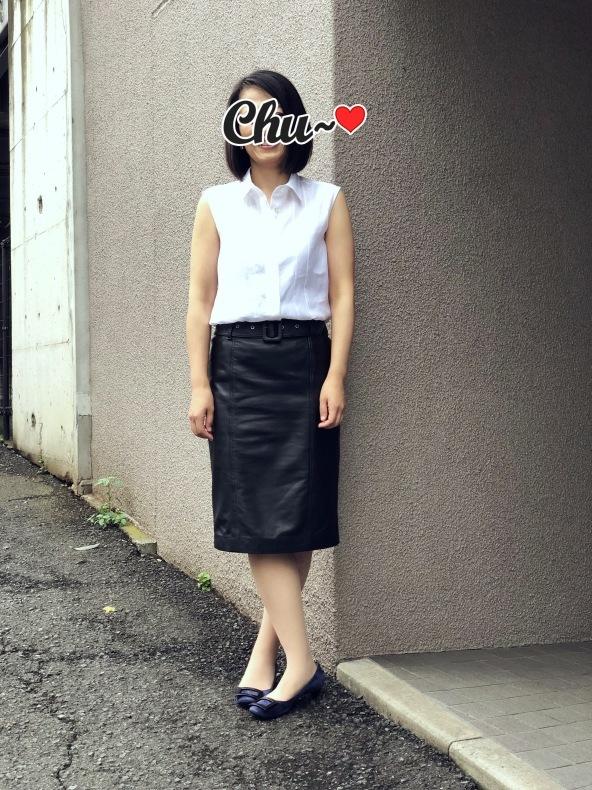 レザースカート試着ウィークレポート②_d0380315_14314517.jpeg