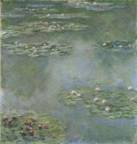 《 画家モネの睡蓮 》 と《 大船フラワーセンターのスイレン 》_b0221219_14051801.jpg