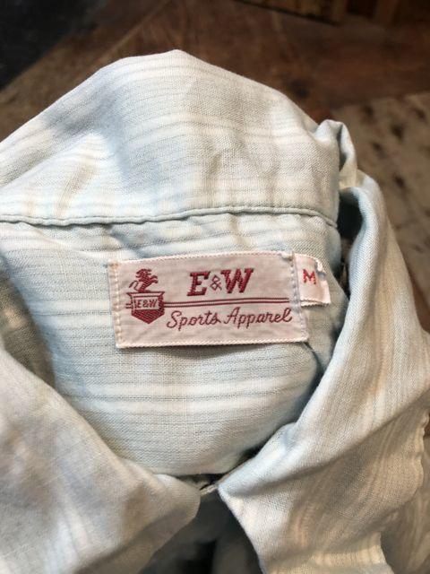 6月23日(土)入荷! 40s  E&W  all cotton BOXシルエット、開襟シャツ!_c0144020_13465193.jpg