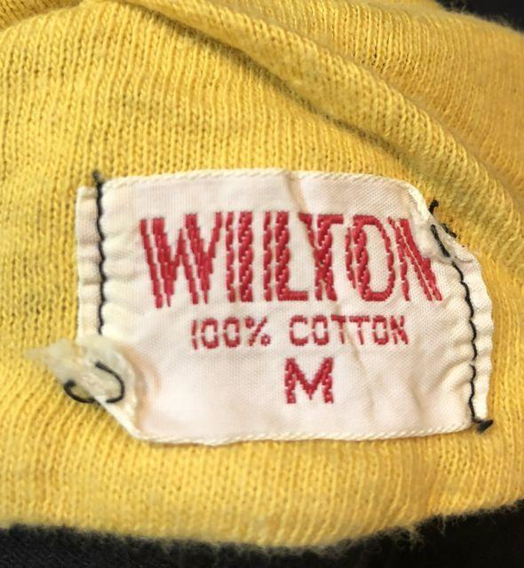 6月23日(土)入荷!50s〜WILTON  BLACK リバーシブル Tシャツ!_c0144020_15063200.jpg