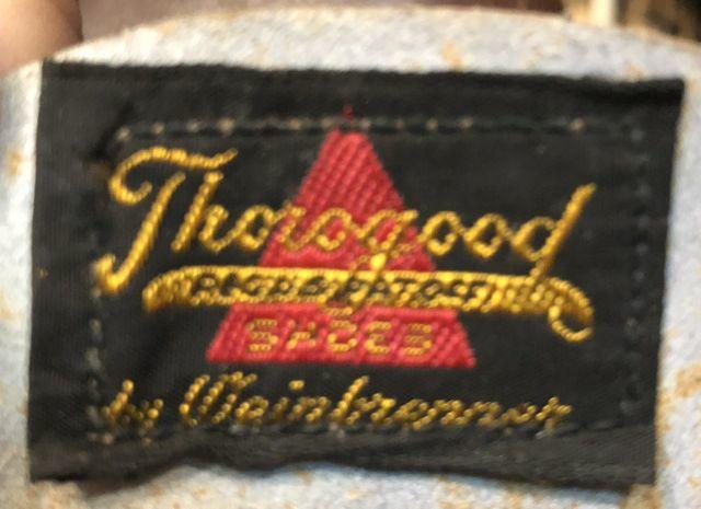 6月23日(土)入荷!50s デッドストック コルクソール THROGOOD ソログッド WORK SHOES!_c0144020_15104293.jpg