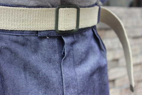 "【DEAD STOCK】 ""FRENCH MILITARY CANVAS BELT\"" & \""UK MILITARY 止血ベルト\"" ご紹介_f0191324_08301245.jpg"