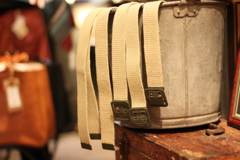 "【DEAD STOCK】 ""FRENCH MILITARY CANVAS BELT\"" & \""UK MILITARY 止血ベルト\"" ご紹介_f0191324_08302037.jpg"