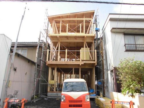 新規エアー断震住宅上棟しました。_f0129627_21291801.jpg