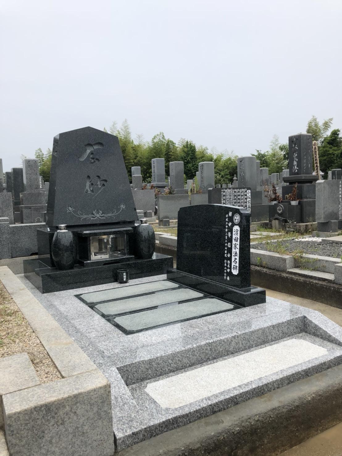 福山市営墓地 奈良津墓苑 洋墓施工例_c0160758_10313762.jpg