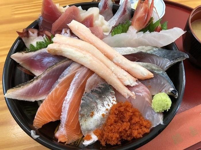 鳥取砂丘そばにあるおすすめ海鮮丼ランチが食べられる店!鯛喜*食べログ3.5以上_e0171573_12123089.jpg