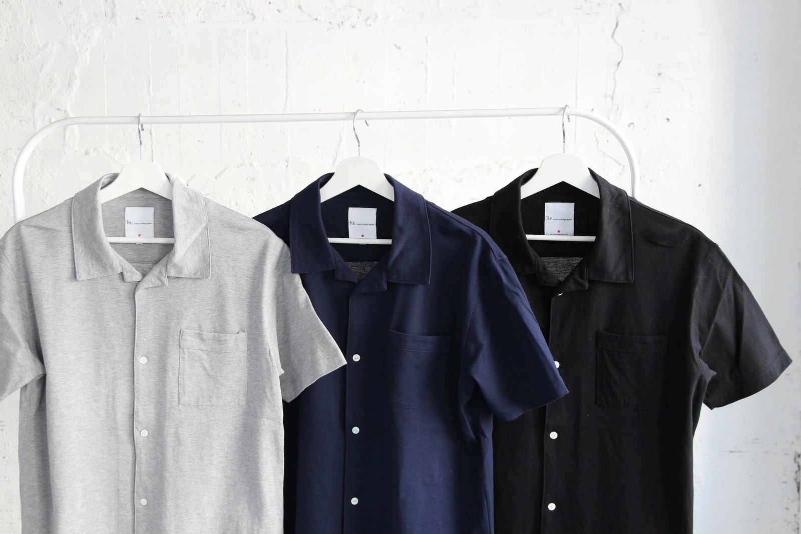 Giza Kanoko Open Collar Shirt_c0379477_23142546.jpg