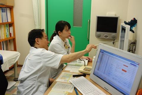 藤田保健衛生大学医学部学生さんの臨床実習_a0152501_06124544.jpg