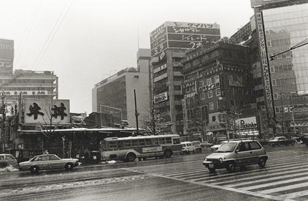 尾仲浩二氏 展覧会「あの頃、新宿で・・80s Shinjuku」_b0187229_12414208.jpg