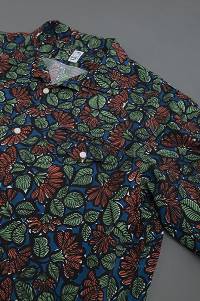 KATO  Leaf Print Open Collar Shirt_d0120442_12565316.jpg