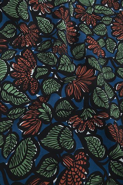 KATO  Leaf Print Open Collar Shirt_d0120442_12565651.jpg