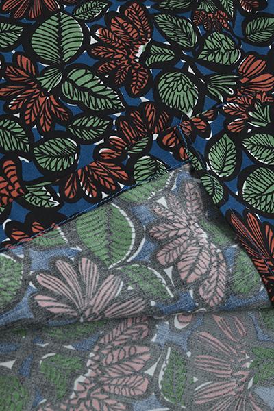 KATO  Leaf Print Open Collar Shirt_d0120442_12565793.jpg
