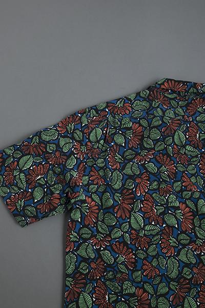 KATO  Leaf Print Open Collar Shirt_d0120442_1257191.jpg