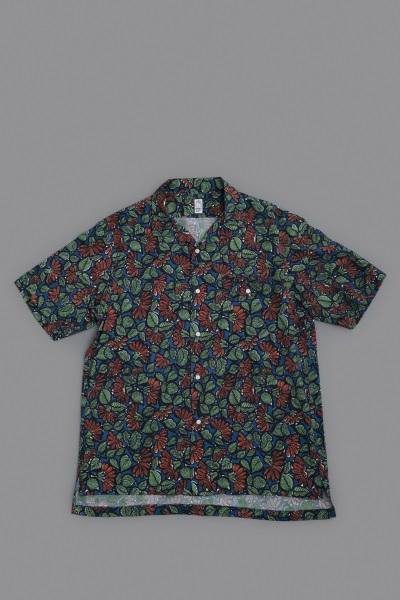 KATO  Leaf Print Open Collar Shirt_d0120442_12573100.jpg