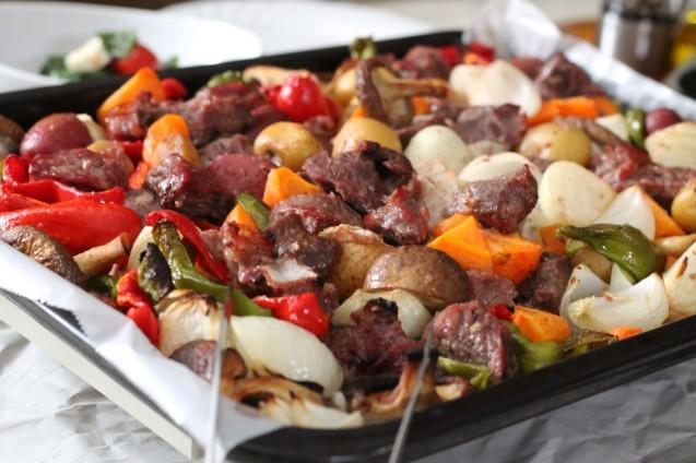 牛肉と野菜のぎゅうぎゅう焼き_d0377645_08562806.jpg