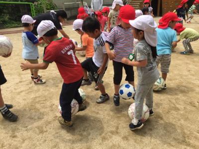 アンジュビオレサッカー教室①_f0324461_17154786.jpg
