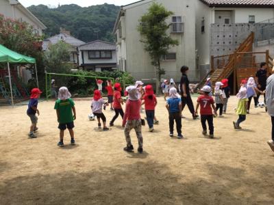 アンジュビオレサッカー教室①_f0324461_17170427.jpg