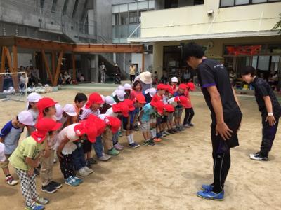 アンジュビオレサッカー教室①_f0324461_17170533.jpg