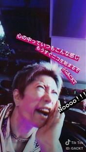 GACKT Tiktok、この後GACKT!! チャンネル_c0036138_15532877.jpg
