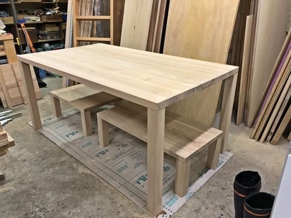 タモのテーブルとちゃぶ台_c0019551_09523052.jpg