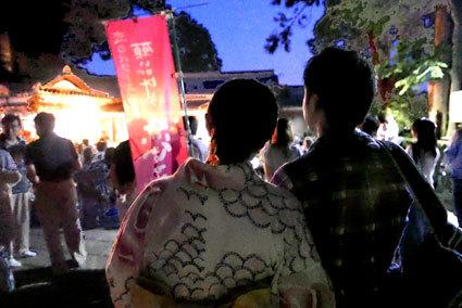 「伊勢木綿の着物」を着て七夕コンサート_b0145257_16432959.jpg