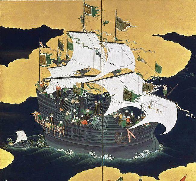 1610年長崎沖におけるマ-ドレ・...