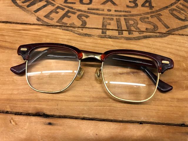 6月27日(水)大阪店Vintage入荷日!!#2 MIX編!1960\'s U.S.Mail LeatherBag、Glasses&FreeMason!!(大阪アメ村店)_c0078587_20205565.jpg