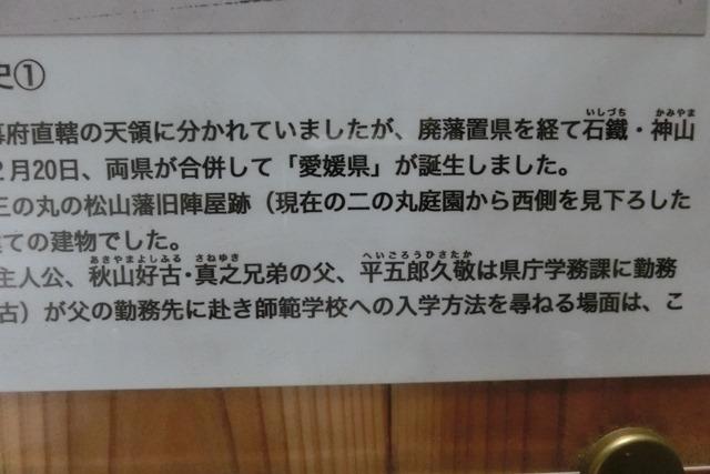 藤田八束の鉄道写真@四国松山での路面電車と松山の街並み、松山城と路面電車のお洒落なコンビ_d0181492_20593903.jpg