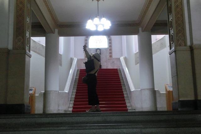 藤田八束の鉄道写真@四国松山での路面電車と松山の街並み、松山城と路面電車のお洒落なコンビ_d0181492_21000733.jpg