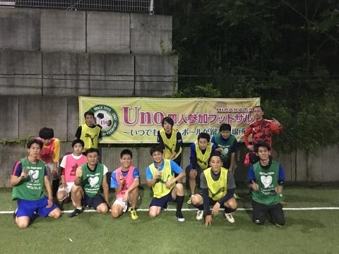 UNO 6/22(金) at UNOフットボールファーム_a0059812_16320690.jpg