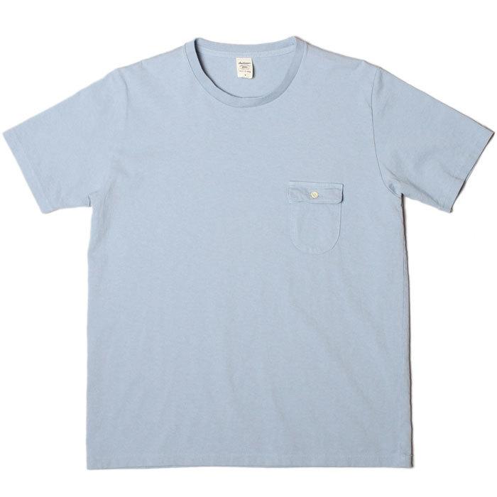Jackman Pocket T-shirt JM5550 Grayish Saxe入荷_c0196434_17171329.jpg