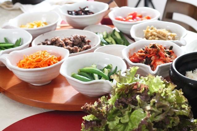 野菜づくしのビビンパ_d0377645_22113130.jpg