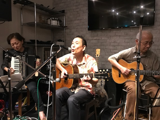 「STARDUST CAFE」ライブ終了 2018年6月25日_a0064571_12421722.jpg