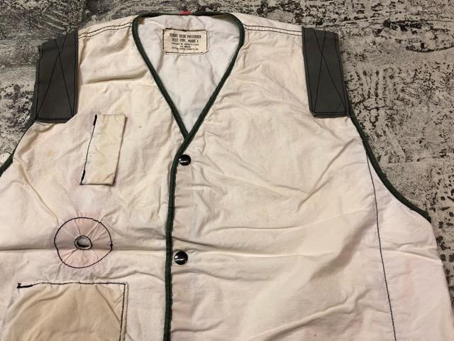 6月27日(水)大阪店Vintage入荷日!!#3 U.S.Navy編!WWII U.S.Navy WhiteT-Shirt&LifePreserverVest!!(大阪アメ村店)_c0078587_17451994.jpg