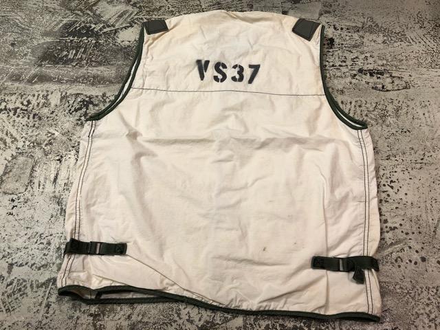 6月27日(水)大阪店Vintage入荷日!!#3 U.S.Navy編!WWII U.S.Navy WhiteT-Shirt&LifePreserverVest!!(大阪アメ村店)_c0078587_1745282.jpg