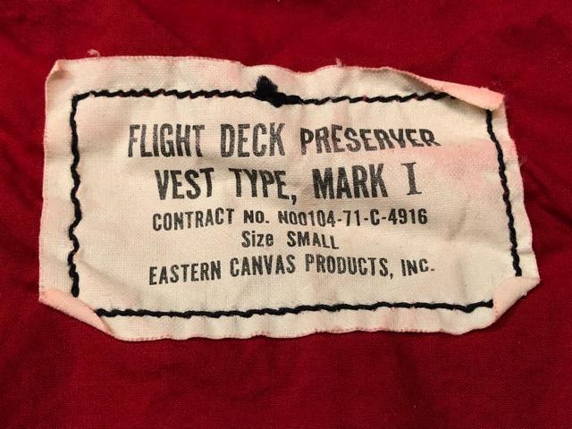 6月27日(水)大阪店Vintage入荷日!!#3 U.S.Navy編!WWII U.S.Navy WhiteT-Shirt&LifePreserverVest!!(大阪アメ村店)_c0078587_17462446.jpg