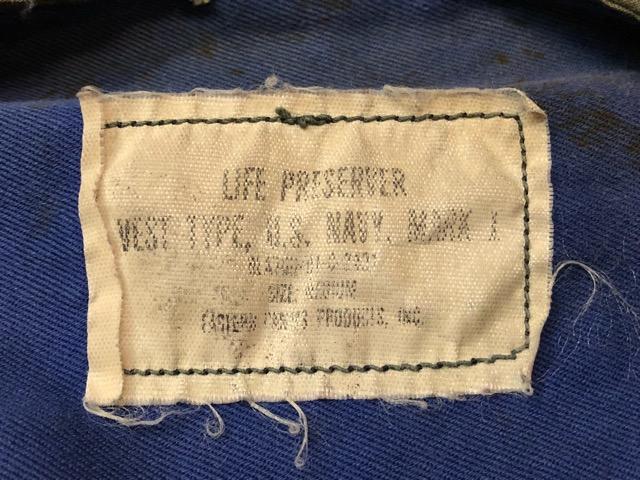 6月27日(水)大阪店Vintage入荷日!!#3 U.S.Navy編!WWII U.S.Navy WhiteT-Shirt&LifePreserverVest!!(大阪アメ村店)_c0078587_17483650.jpg