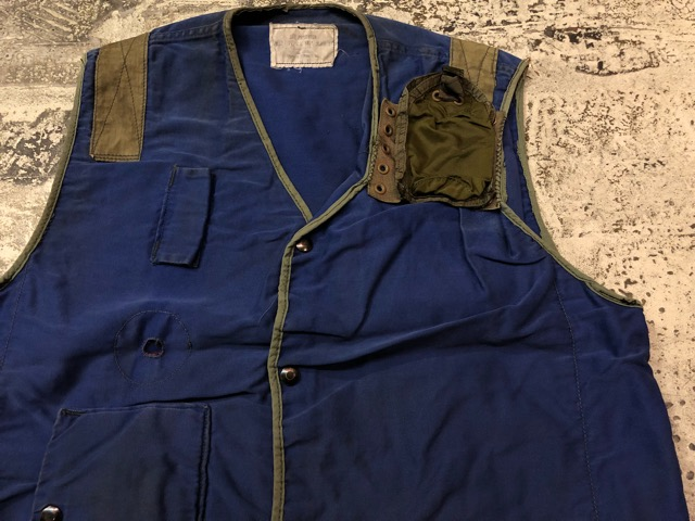 6月27日(水)大阪店Vintage入荷日!!#3 U.S.Navy編!WWII U.S.Navy WhiteT-Shirt&LifePreserverVest!!(大阪アメ村店)_c0078587_17484383.jpg