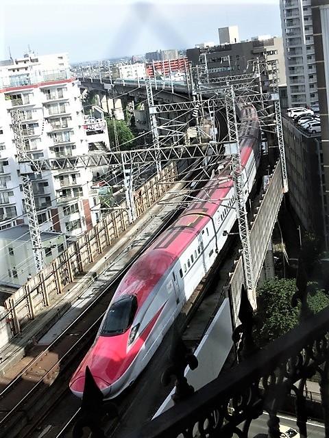 藤田八束の鉄道写真@東北本線仙台駅での新幹線の以外な素顔、石油を運ぶ貨物列車は意外とお洒落_d0181492_08331547.jpg
