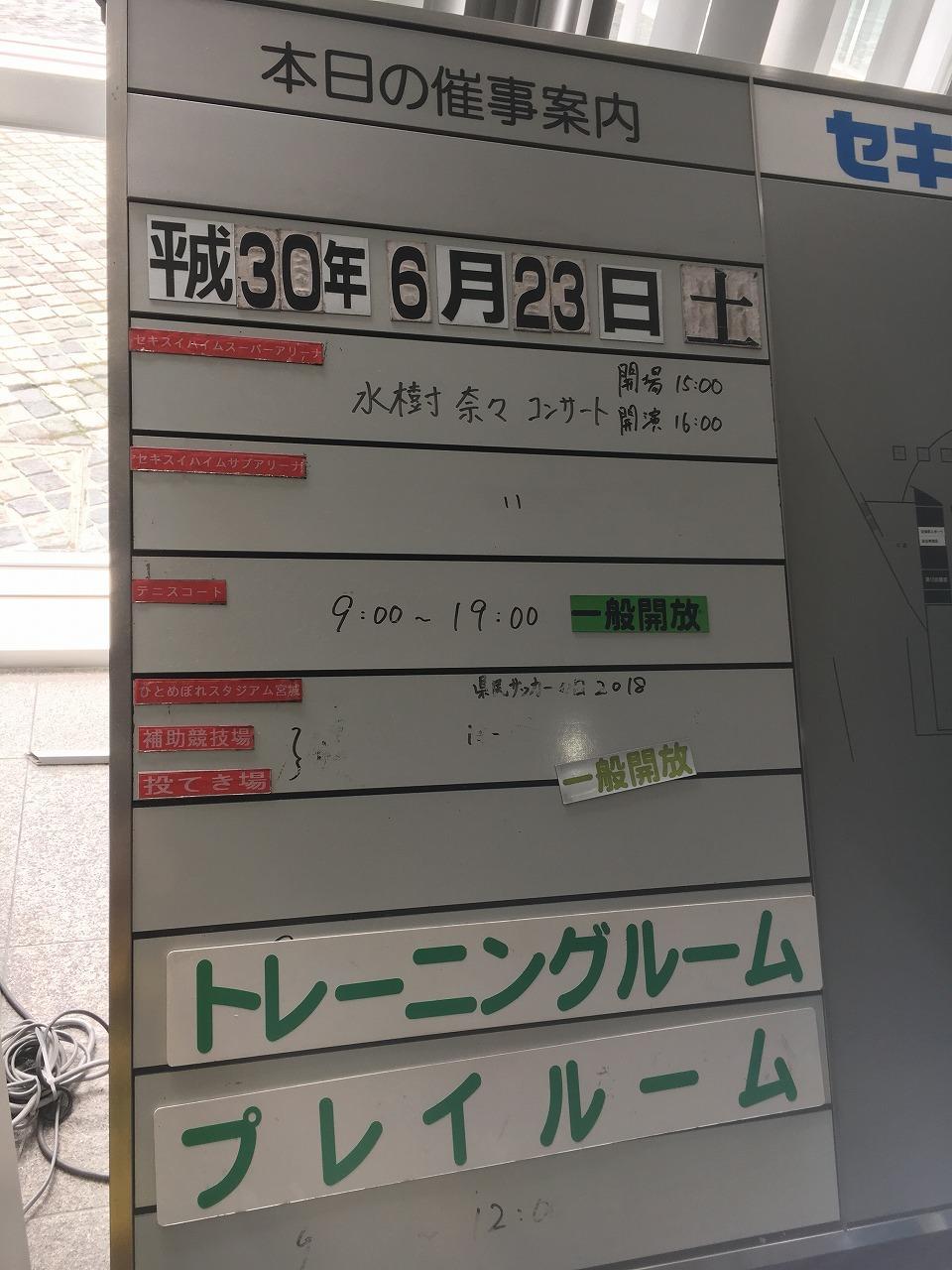 セトリ記載】水樹奈々 LIVE ISLAND 2018 WAVE01~宮城~ : 声優ライブ日記