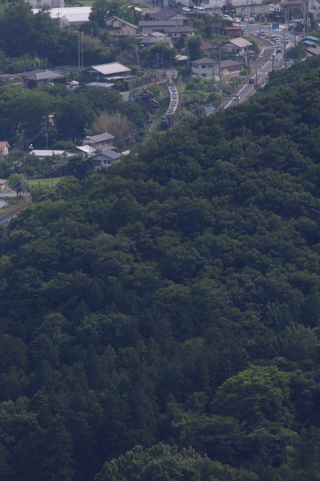 緑濃い山に向かう汽車 - 秩父・2018年初夏 -_b0190710_23025086.jpg