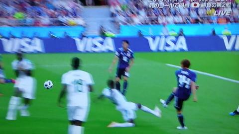 6/24(日) 日本 vs セネガル 2018W杯ロシア大会_a0059812_19054832.jpg